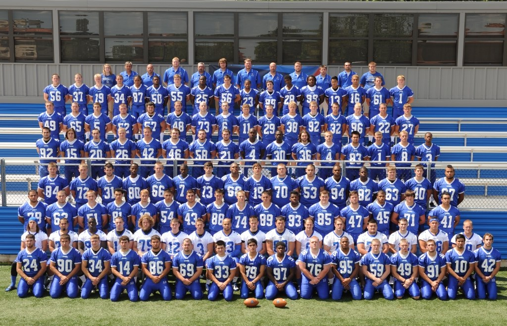 2012 Football Roster Aurora University Athletics