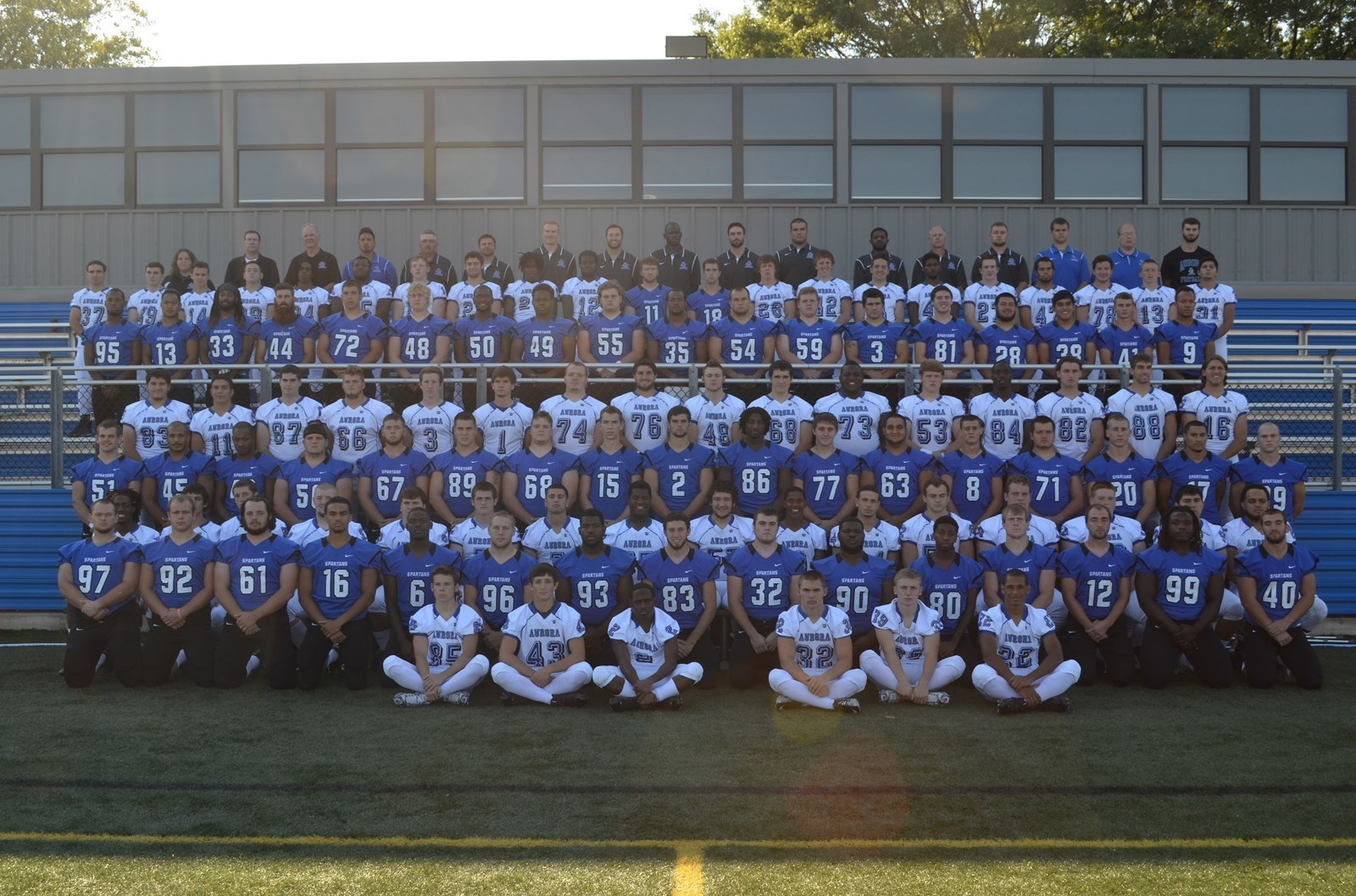 2014 Football Roster Aurora University Athletics